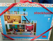 Rare Lundby Smaland Doll39s House With Terrace And Pool From Japan Fedex No.2788