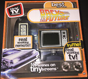 🔥⏳🚗🏫🔥back To The Future Best Clips Tiny Tv Classics 80and039s Remote