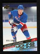 2020-21 Upper Deck Young Guns Ud Exclusives /100 Alexis Lafreniere 201 Rookie