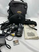 Nikon Camera Coolpix 8700 With Case, Straps, Charger And Battery And Memory