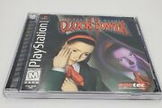 Clock Tower 2 The Struggle Within Ps1 Cib With Registration Card