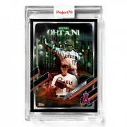 Topps Project 70 Card 550 2021 Shohei Ohtani By The Shoe Surgeon Presale 550