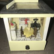 Completed Dollhouse Miniature Andldquokitchen Ring Boxandrdquo Handcrafted By Joan 1995