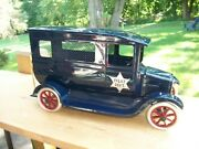 Buddy L Style Cowdery Ford Model T Flivver Police Paddy Wagon Prototype