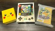 New Unused Nintendo Game Boy Advance Sp Pikachu And Color Console Boxed 3set F/s