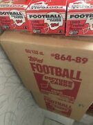 1989 Topps Traded Football Sets Sold In Lots Of 5 From Fresh Case