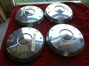 Nos 1960 1961 1962 Ford Dog Dish Hub Caps 9 1/2 Poverty 1960 1961 1962 Muscle