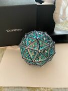 2019 Waterford Times Square Replica 6 Ball Ornament With Tags Pink Blue Shiny