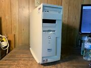 Dell Dimension 4100 Vintage Retro Gaming Computer P3 Cpu Rs232 Serial Parallel