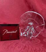 Flawless Exceptional Baccarat France Art Glass Crystal Peacock Turkey Figurine