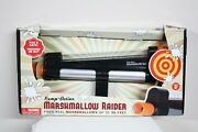 Marshmallow Raider Shooter Pump Action Gun Fires Up To 30 Feet Fun In And Outdoors