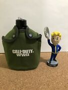 New Call Of Duty Activision World War 2 Ww2 Canteen Replica - Free Shipping