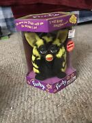 Vintage 1999 Tiger Electronics Original Furby Toy Bumble Bee Yellow And Black Seal