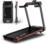 Folding Treadmill With Auto Incline Electric Running Machine Treadmills For Home