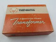 View Master Model 3 Ac Viewer Transformer For Model D And H Viewers W/original Box