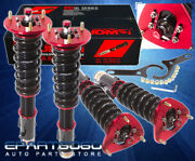 For 93-01 Impreza Wrx Ride Drop Height Adjustable Coilover Damping Assembly Kit