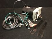Genuine Craftsman Table Saw Model 137.218072 Motor W/switch And Arbor Wrench Set