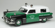 Goldvarg Collection 1/43 Nypd New York City Police 1953 Ford Courier Esu Nypd002
