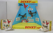 Rare Meccano Dinky Toys Batlle Of Britain Store Display With Spitfire And Stuka