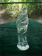 Waterford Crystal Madonna With Child Figurine 7 Inch