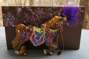 Jay Strongwater Carousel Horse Ornament Elements New Box
