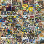 Comic Book Lot Of 63 -bagged Boarded 10c