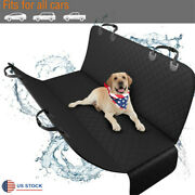 Car Seat Cover Pet Dog Carrier Rear Back Seat Mat Cushion Protector Waterproof
