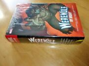 Werewolf By Night Omnibus Very Rare Hc Dm Variant Cover Edition New And Sealed