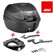 Givi Scooter Monolock System Topcase- Set Incl Carrier Fits For Yamaha T-max 500