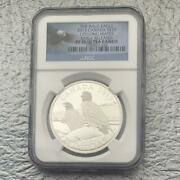 2013 Canadian Bald Eagle Ngc Pf70 Uc Er 20 Silver Coin