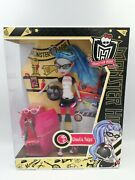 Monster High Physical Deaducation Ghoulia Yelps Doll W2557 - Rare New 2011