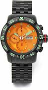 Aragon Gauge Swiss Valjoux 7750 Automatic Diver Watch 35 Of Only 50 Produced