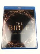 The Bible Blu-ray The Epic Miniseries Movie 4 Disc Set New Sealed
