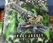 Big Palisades Toys Alien Space Jockey Deluxe Statue H.r. Giger Rare 7 Not Micro