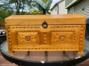 American Girl Josefina Wooden Chest Trunk, Iron Hardware, First Edition, Retired