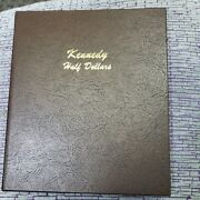 Complete 104 Piece Bu Kennedy Set In Dansco Album 1964 P And D-2019 P And D