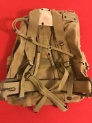 Wwii Mountain Rucksack And Camo Cover Andldquomeese Inc. 1942andrdquo Mint Nos Unissued
