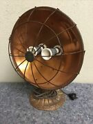 Vintage Copper Double Heater-cast Iron Base-untested