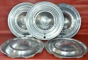 1951 51and039 Kaiser Henry J Hubcap Deluxe Wheel Cover Hub Caps Used 15 Set Of 5