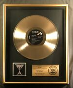 The Beatles Hey Jude 45 Gold Riaa Record Award Capitol Records To George
