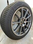 Tesla Model 3 Performance 18 Inch Wheels And Tires Snow/all Season