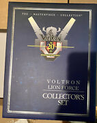 Bnib Voltron Masterpiece 20th Anniversary Lion Force Collector Set Free Shipping