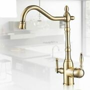 Kitchen Faucets Mixer Taps Cold And Hot 360 Rotation With Water Purifications