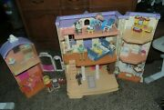 Fisher Price Loving Family Home And Stable Dollhouse With Furniture And People