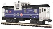 ✅mth Premier Csx Law Enforcement Caboose O Scale Police Fire Fighter Truck