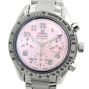 Omega Speedmaster 3502.78 Automatic Pink Shell Dial Stainless Unisex