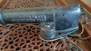 Antique French Mf Cast Iron Blank Firing Garden / Home Alarm Or Signal Cannon
