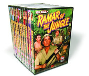 Ramar Of The Jungle - Volumes 1-11 Dvd New