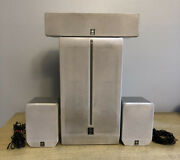 Yamaha Nx-c270/nx-e270 Speakers And Sw-p270 Sub Woofer Surround Sound System