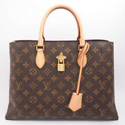 Louis Vuitton Flower Tote Monogram M43551 Womenand039s Bag From Japan Fedex No.5025
